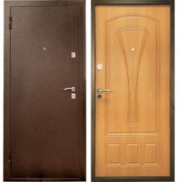 Металлическая дверь УД-104, Йошкар-Ола, 860*2050, миланский орех
