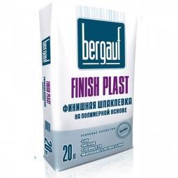 Шпатлевка Bergauf Finish Plast финишная полимерная 20 кг