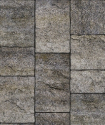 Тротуарная плитка Антара Искусственный камень 250х300х60 Габро