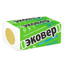 Базальтовый утеплитель Эковер Фасад Декор Оптима 135 1000х600х50 / 6 пл.