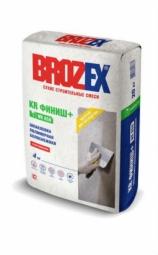 Шпатлевка Brozex KR Финиш+ WR-650 полимерная белоснежная 4 кг