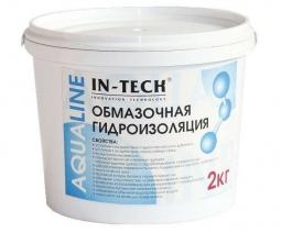 Обмазочная гидроизоляция IN-TECK AQUALINE, ведро 2кг