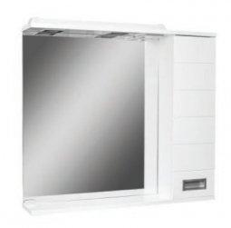Шкаф-зеркало Домино Cube 75 правый с электрикой DC5009HZ