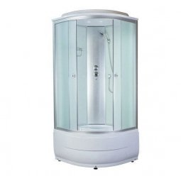 Кабина душевая Aquacubic 3102D 900х900х2200 мм Fabric white