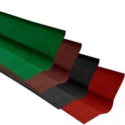 Ендова Ондулин зеленый длина - 1м, полезная длина 0,85 м