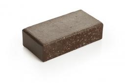 Брусчатка клинкерная «Шоколад» «Брауни» 100х200х45