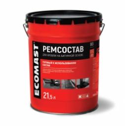 Ремонтный состав Ecomast, металлическое ведро 2 л