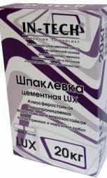 Шпатлевка In-Teck Lux цементная серая 5 кг