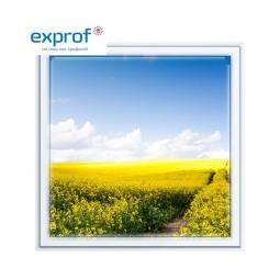 Окно ПВХ Exprof 600х600 мм одностворчатое Г 1 стекло
