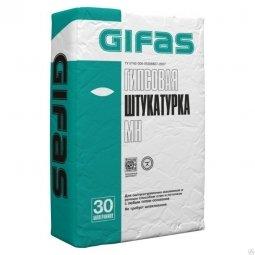 Штукатурка Gifas МН гипсовая финишная 30 кг