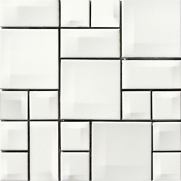 Мозаика Vitra Day-to-Day 300х300 белая глянцевая 5400548