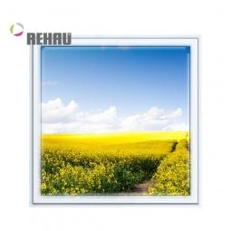 Окно ПВХ Rehau 600х600 мм одностворчатое Г 1 стеклопакет