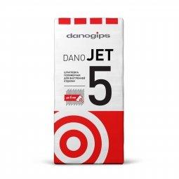 Шпатлевка Danogips DanoJet 5 полимерная 25 кг