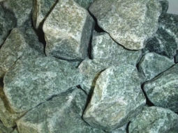 Камень для бани ХакасИнтерСервис Жадеит колотый крупный ЗЖ, 10кг
