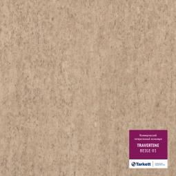 Линолеум коммерческий гетерогенный Tarkett Travertine Beige 1 3 м рулон