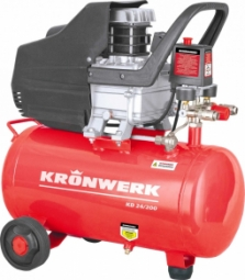 Компрессор Kronwerk KD 24/200 (1.5 кВт, 198 л/мин, 24 л)