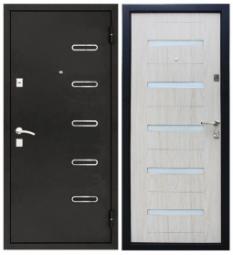 Металлическая дверь УД-145, Йошкар-Ола, 960*2050, беленый дуб