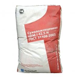 Цемент Сухоложский ЦЕМ I 42,5Н, (ПЦ500-Д0), мешок 50 кг