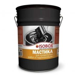 Мастика ISOBOX кровельная гидроизоляционная ведро 22кг