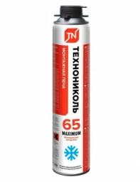 Монтажная пена Технониколь 65 MAXIMUM всесезонная (990 гр)