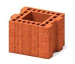 Камень керамический профильный  Porikam 7 НФ Vent 250х250х219 с пазом и гребнем
